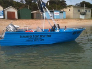 fishing boat hire mornington peninsula snapper polycraft