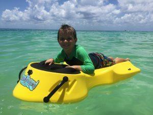 Zayak reef board sea sled hire mornington peninsula